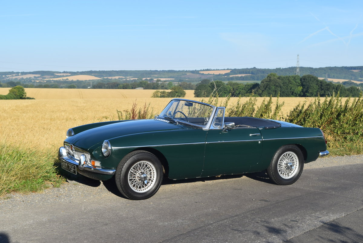 MGB Roadster 1967 Mk1 For Sale (picture 2 of 6)