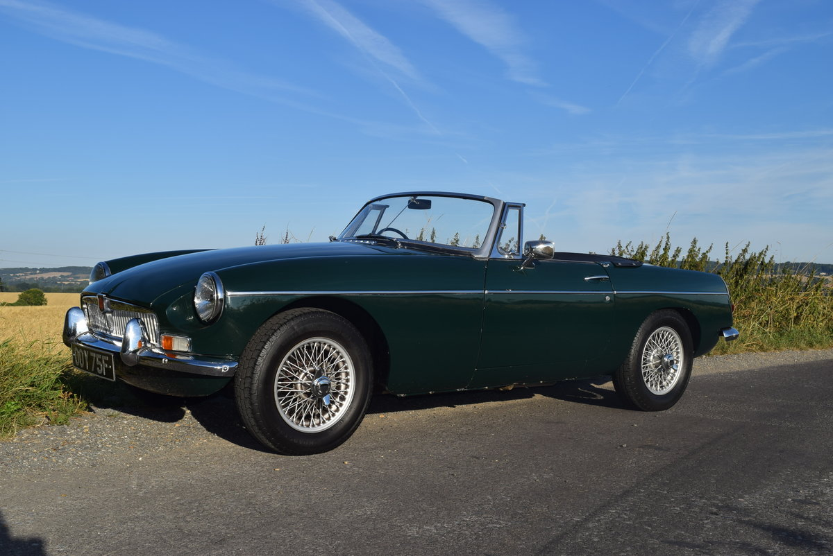 MGB Roadster 1967 Mk1 For Sale (picture 4 of 6)