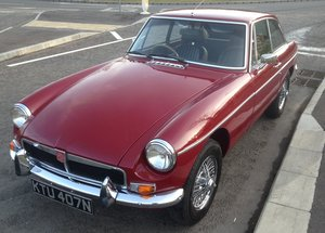 1095 1975 MGB GT With Overdrive Manufactured late 1974  SOLD