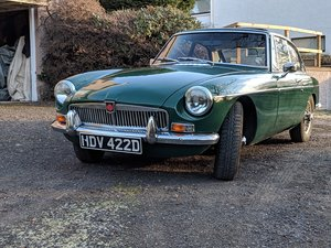 MGB GT Mk1 1966 British Racing Green For Sale