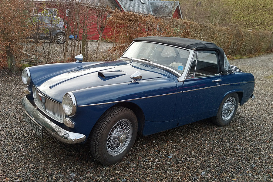 1967 1968 MG Midget For Sale by Auction 23rd February SOLD by Auction (picture 1 of 1)