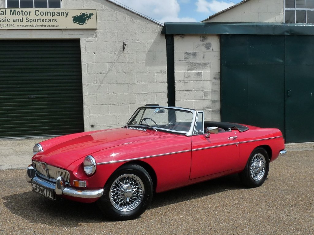 1966 MGB roadster Mk1, Sold SOLD (picture 1 of 6)