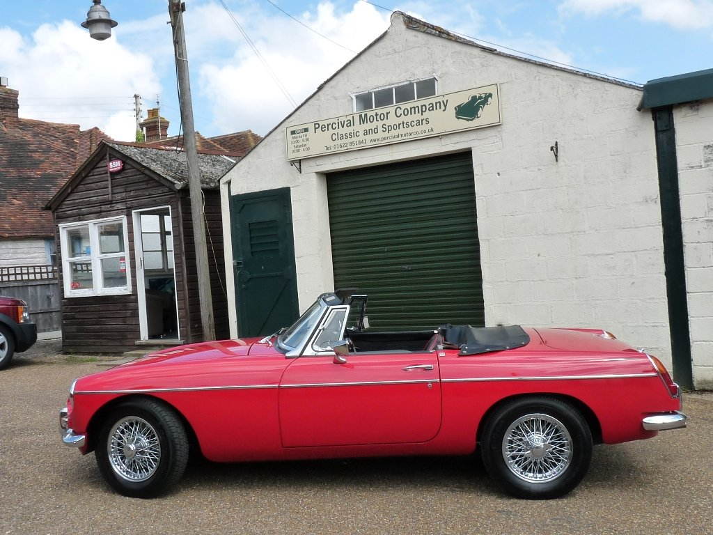 1966 MGB roadster Mk1, Sold SOLD (picture 5 of 6)