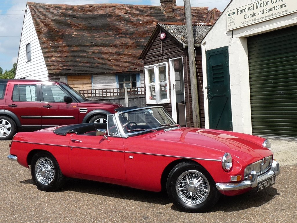 1966 MGB roadster Mk1, Sold SOLD (picture 6 of 6)
