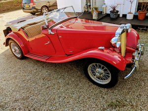 1953 MG TD - Red For Sale