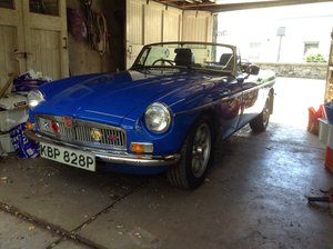 1976 MGB convertible  For Sale