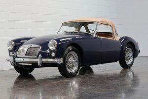 1959 MG MGA Roadster = Full Restored Blue(~)Tan   $59.5k For Sale