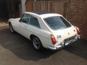 1974 MG BGT 57000 miles only