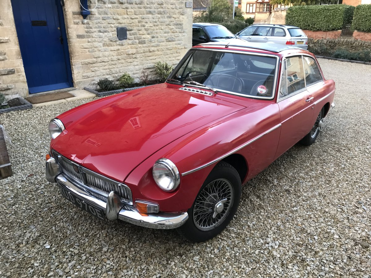 1967 MK I MGB GT SOLD (picture 1 of 6)