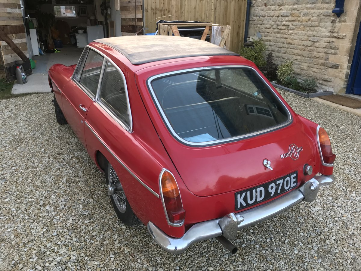 1967 MK I MGB GT SOLD (picture 2 of 6)