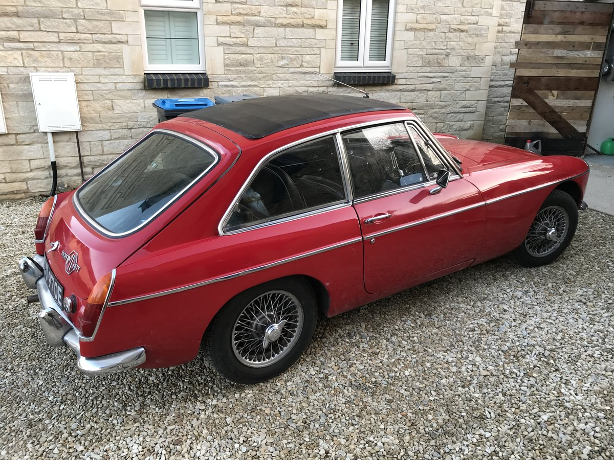 1967 MK I MGB GT SOLD (picture 3 of 6)