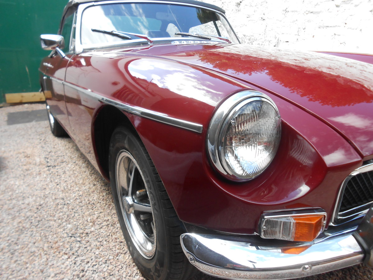 MGB Roadster 1.8 1973 with Overdrive in Torquay  For Sale (picture 4 of 6)