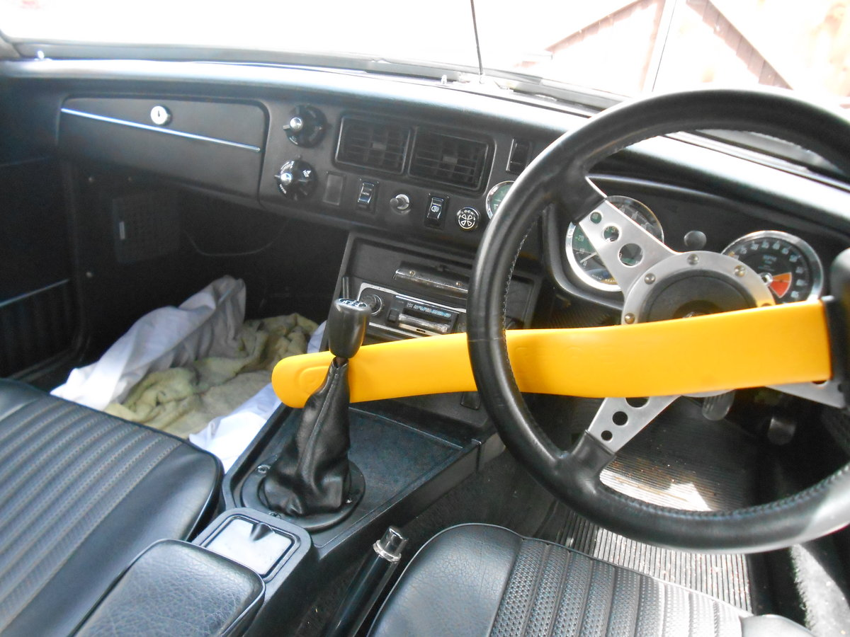 MGB Roadster 1.8 1973 with Overdrive in Torquay  For Sale (picture 6 of 6)