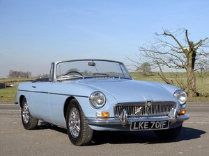 1967 MG B Roadster For Sale by Auction