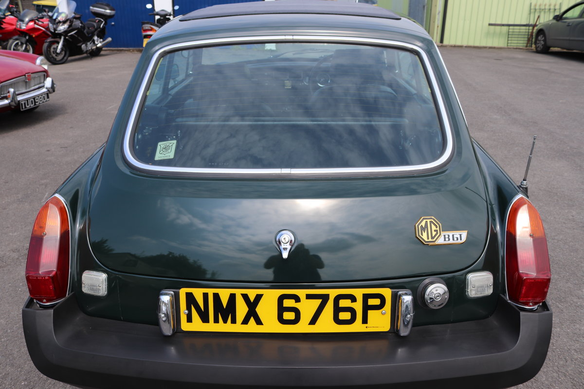 1975 MGB GT Jubilee model, Fully restored SOLD (picture 5 of 6)
