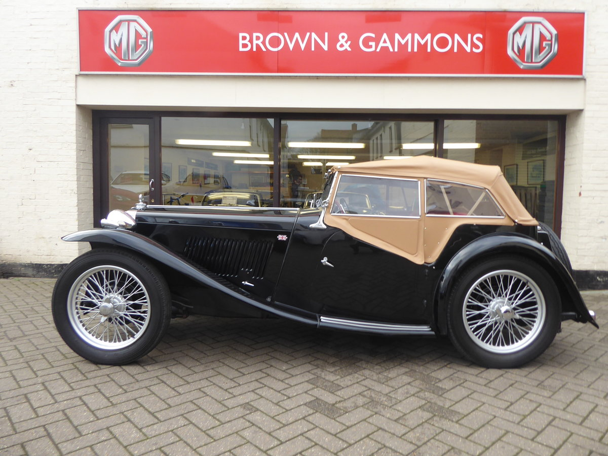 BEAUTIFUL MG TC 1949 IN BLACK For Sale (picture 6 of 6)
