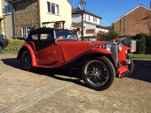 MG TC,  1948 For Sale