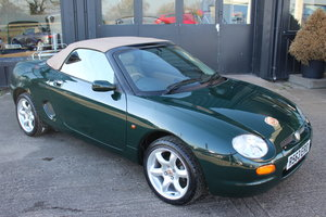 1998 MGF ABINGDON 1.8 VVC, ONLY 29,000 MILES, NEW HEADGASKET For Sale