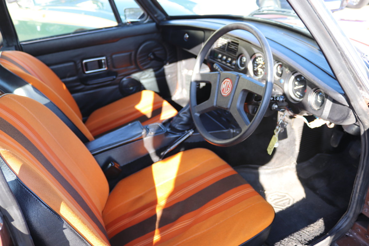 1979 MGB GT in original Russet brown, condition 1. SOLD (picture 2 of 6)