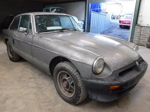 **MARCH AUCTION** 1981 MG BGT Limited edition.12 MILES FROM  SOLD by Auction