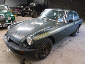**MARCH AUCTION**1975 MG BGT Jubilee.112 MILES FROM NEW SOLD by Auction