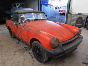 **MARCH AUCTION**1979 MG Midget 72 MILES FROM NEW. SOLD by Auction