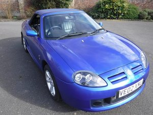 **MARCH AUCTION** 2002 MG TF Stepspeed SOLD by Auction