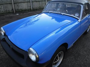 **MARCH AUCTION**1979 MG Midget SOLD by Auction