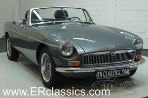 MGB cabriolet 1972 V8 rebuilt engine For Sale