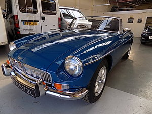 1973 MGB Roadster Beautifully restored SOLD