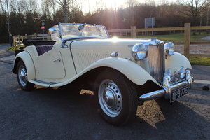 1953 MG TD MK11 C (Competition)  Very Rare TD SOLD