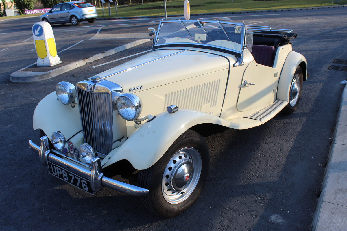 1953 MG TD MK11 C (Competition)  Very Rare TD SOLD (picture 2 of 6)