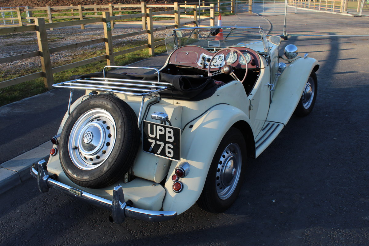 1953 MG TD MK11 C (Competition)  Very Rare TD SOLD (picture 5 of 6)