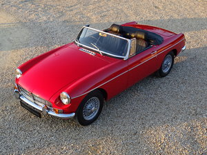 MGB Roadster – 2 Owners/Bare Shell Restoration For Sale