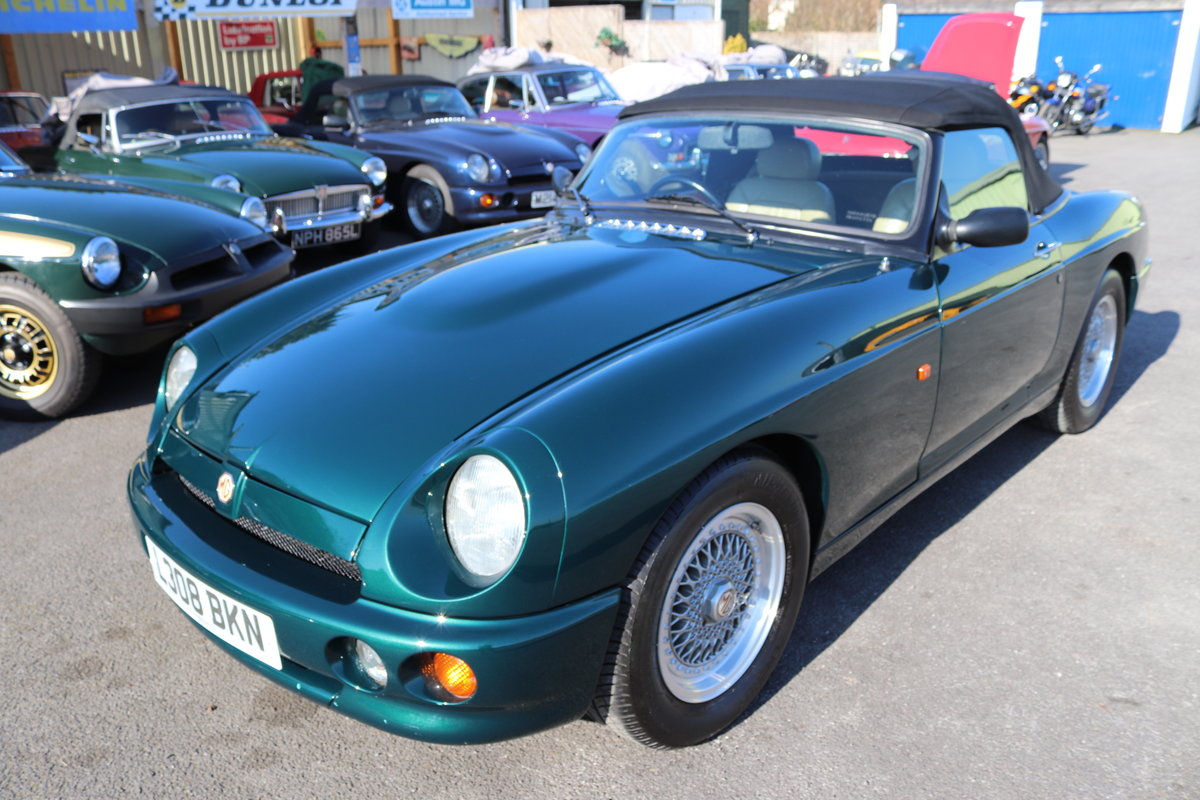 1993 MG RV8 ,UK Car, 30,000 miles,Power steering, Immaculate SOLD (picture 1 of 6)