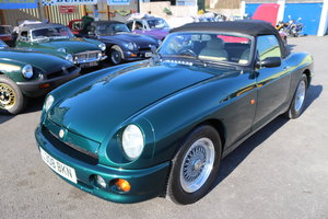 1993 MG RV8 ,UK Car, 30,000 miles,Power steering, Immaculate SOLD