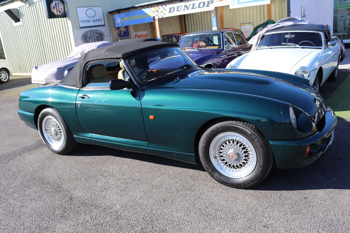 1993 MG RV8 ,UK Car, 30,000 miles,Power steering, Immaculate SOLD (picture 2 of 6)