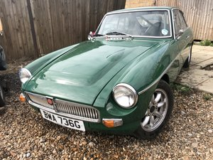 MGC GT 1968 FOR SALE by EBAY AUCTION For Sale by Auction