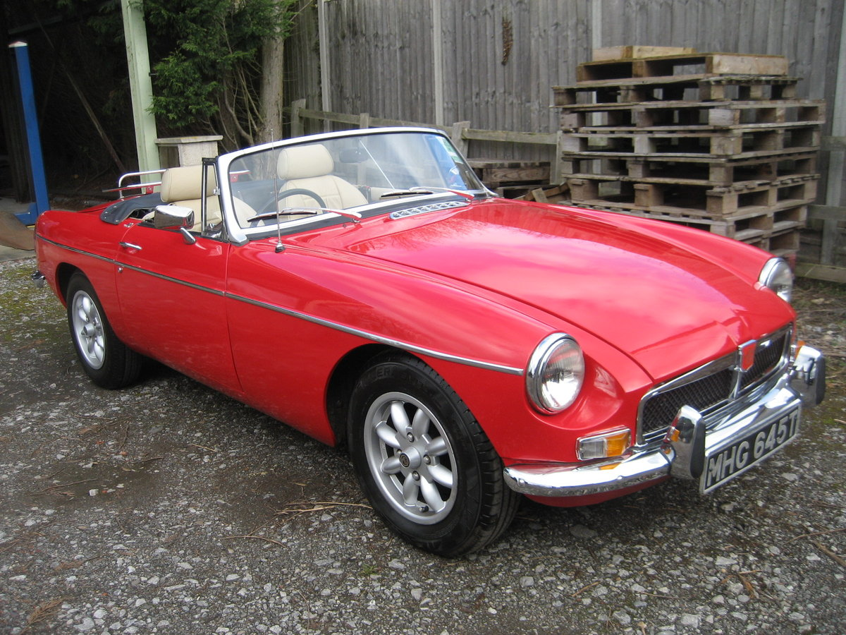 1978 MGB Roadster  SOLD (picture 1 of 6)