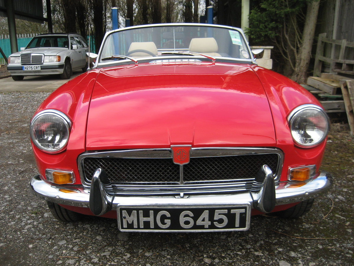 1978 MGB Roadster  SOLD (picture 2 of 6)