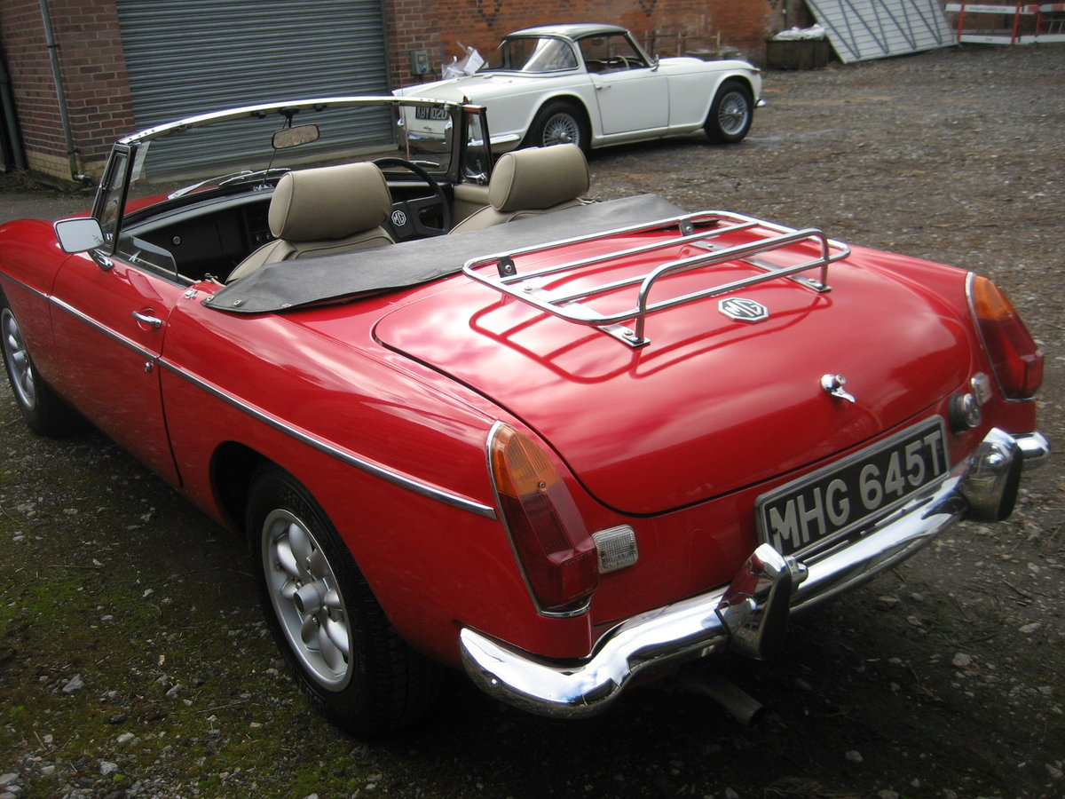 1978 MGB Roadster  SOLD (picture 4 of 6)