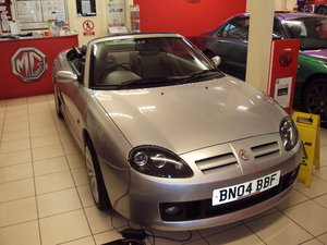 2004(04) MG TF115  SUNSTORM Convertible SOLD