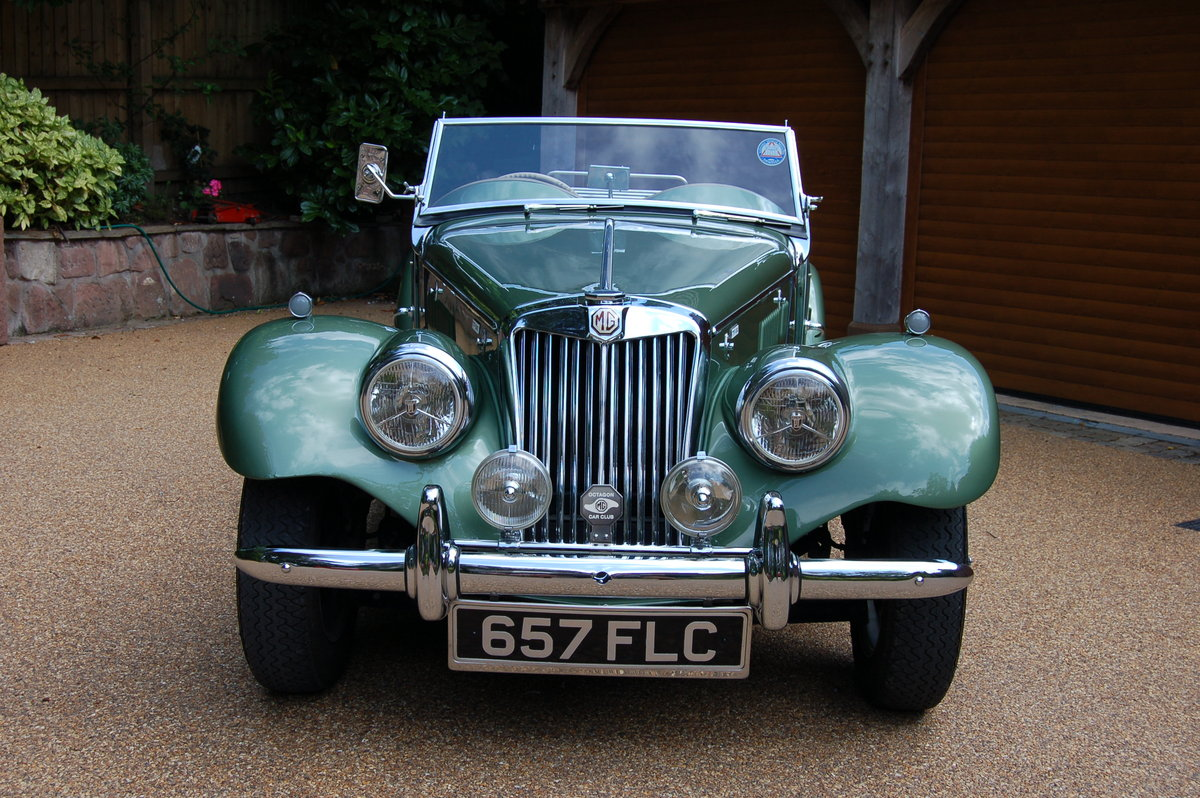 MG TF1500 April 1955 ORIGINAL RHD  SOLD (picture 2 of 2)
