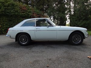 Deposit Taken. 1974 MGB GT V8 - Chrome Bumper V8 SOLD