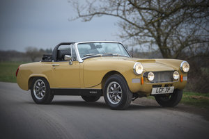 1975 MG Midget 1400 K-Series - Fully Rebuilt - on The Market SOLD by Auction
