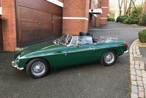 1970 MGB Roadster. Original home market RHD car.  For Sale