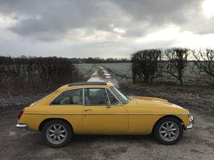 1977 MGB GT 3500cc V8 rebuild For Sale