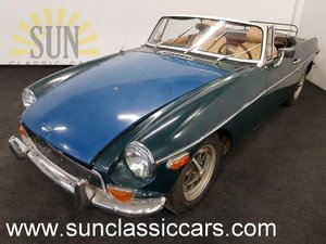 MGB cabriolet 1972, original Chrome bumper For Sale