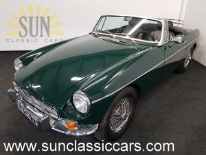 MGB cabriolet 1969, British Racing Green. For Sale