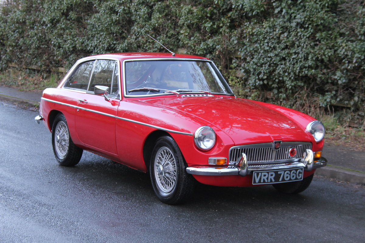 1969 MGB GT, O/D, Wire Wheels, thousands spent SOLD (picture 1 of 12)